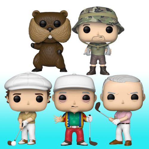 Caddyshack Pop! Vinyl Bundle Pack - set of 5