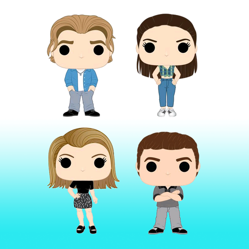 Dawsons Creek Pop! Vinyl Bundle Pack - set of 4