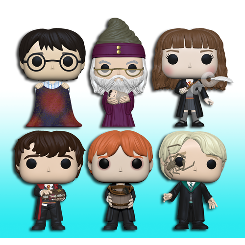 Harry Potter Pop! Vinyl Figure Bundle (Set of 6)