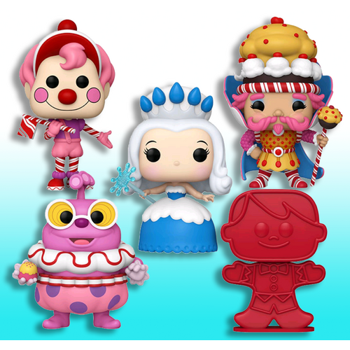 Candy Land Pop! Vinyl Figure Bundle (Set of 5)