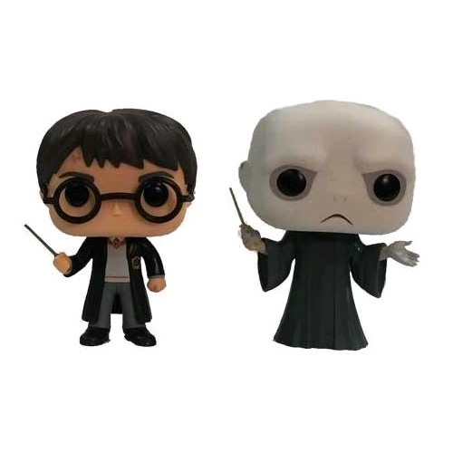 Harry Potter - Harry & Voldemort Pop! 2Pk !E