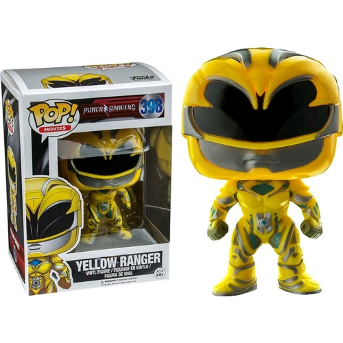 Power Rangers Movie - Yellow Ranger Pop!