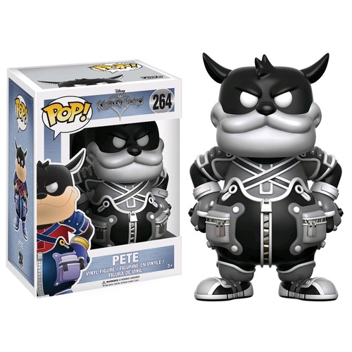 Kingdom Hearts - Pete (Black & White) US Exclusive Pop!