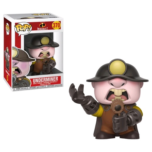 Incredibles 2 - Underminer Pop!