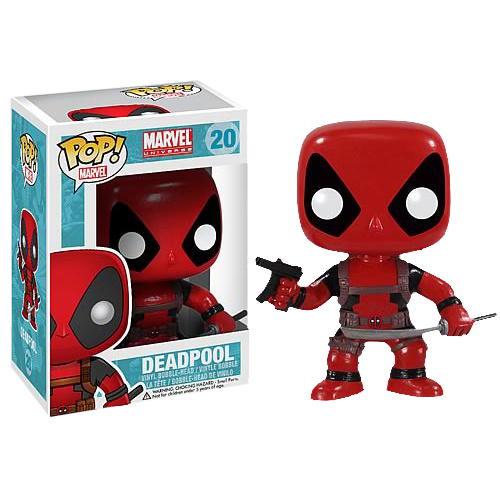 Deadpool - Pop! Vinyl Bobble Figure