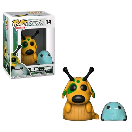 Wetmore Forest - Slog w/Grub Pop! Vinyl Figure