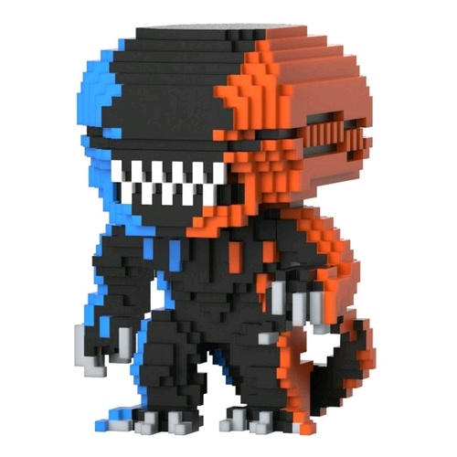 Alien - Xenomorph OR/BU 8-Bit Pop!
