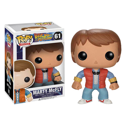 Back to the Future - Marty McFly Pop! Vinyl Figure