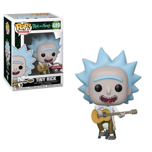Rick & Morty - Tiny Rick w/Guitar Pop! Vinyl Figure