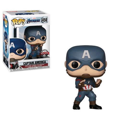 Avengers 4: Endgame - Captain America Pop! Vinyl Figure