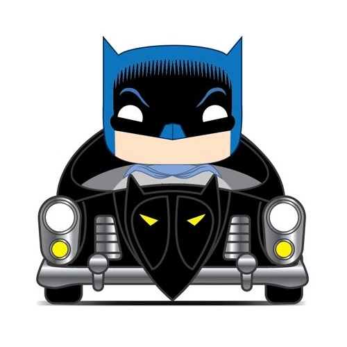 Batman - Batmobile 50's 80th ANNIV Pop! Ride