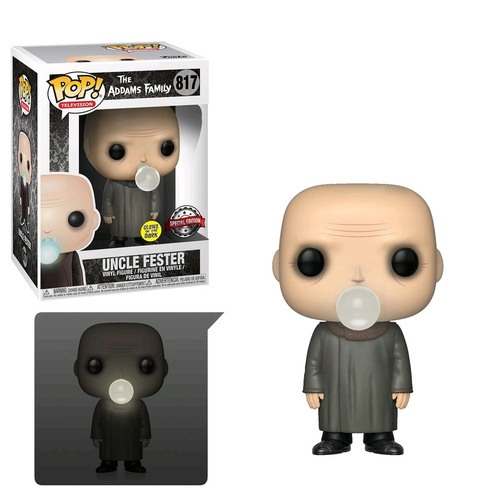 Addams Family - Fester w/Lightbulb Pop! Vinyl Figure
