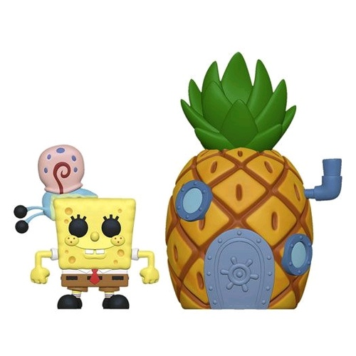 Spongebob - Spongebob w/ Pineapple Pop! Town Vinyl Figure