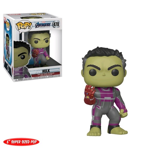 "Avengers 4 - Hulk with Gauntlet 6"" Pop! Vinyl Figure"