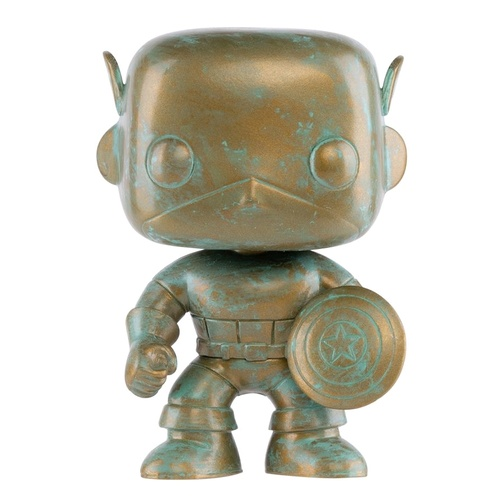 Captain America - Marvel 80th ANNIV Patina Pop! Vinyl Figure