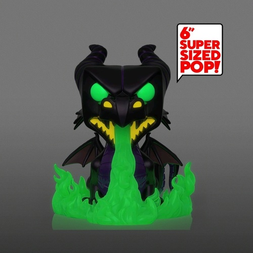 "Sleeping Beauty - Dragon w/Flames MT GW 6"" Pop! Vinyl Figure"
