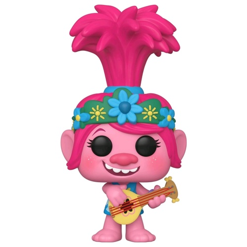 Trolls World Tour - Poppy w/Guitar Pop! Vinyl Figure