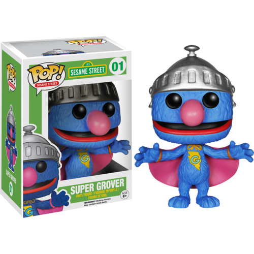 Sesame Street - Super Grover Pop! Vinyl Figure