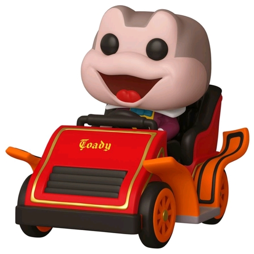 Disney 65th ANNIV - Mr Toad in Car Pop! Ride Vinyl Figure