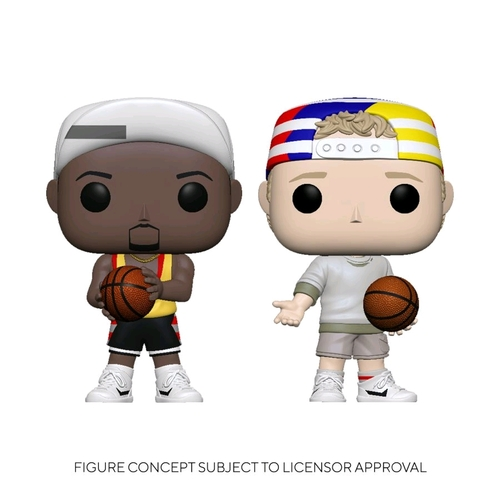 White Men Can't Jump - Billy & Sydney Pop! 2pk Vinyl Figure