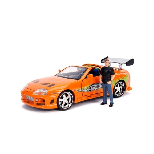 Fast & Furious - 1995 Toyota Supra 1:24 with Brian Hollywood Ride
