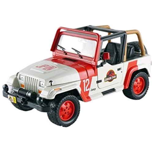 Jurassic World - 92 Jeep Wrangler 1:24