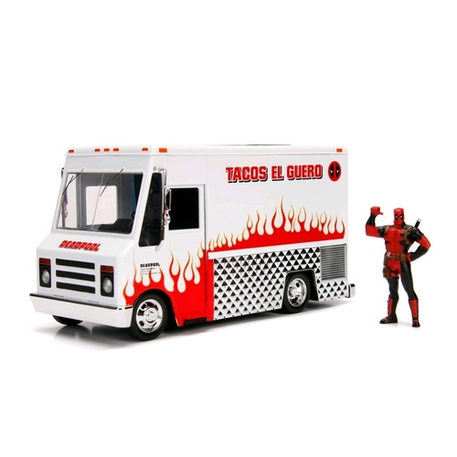 Deadpool - Food Truck Hollywood Rides 1:24 Scale Diecast Vehicle